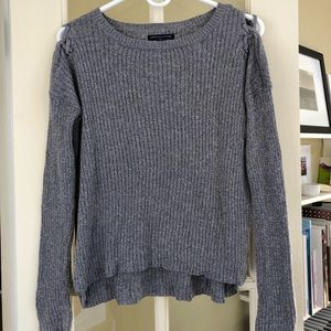 AE Lace Up Sweater